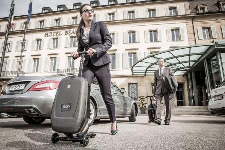 Чемодан Micro Luggage