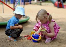 Наши любимы игры на природе с сыном дошкольником