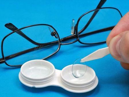 Виды контактный линз