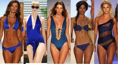 Какой цвет купальника в моде весной-летом в 2015 году?