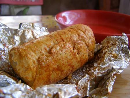 Куриный рулет с креветками - наше любимое блюдо с фото