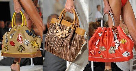 Пляжные модные сумки 2015