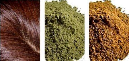 Народные средства для покраски волос в темный цвет