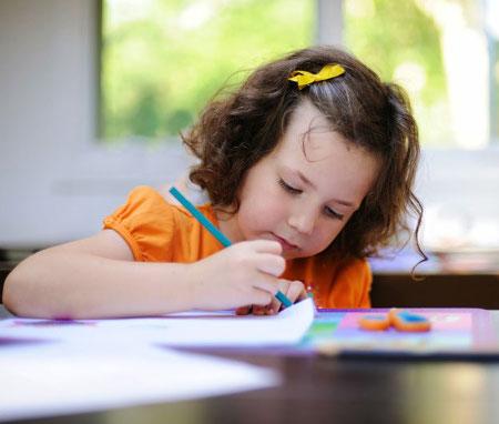 Ребенок рисует свой страх