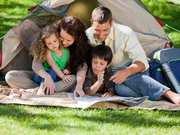 Отдыхаем с семьей в кемпинге с палатками