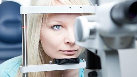 Диагностика синдрома сухого глаза