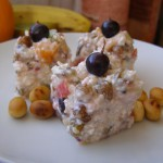 Творожный десерт с фруктами - готовим вместе с детьми весело!