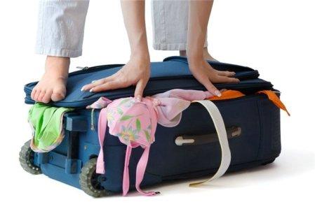 Вместимость чемодана
