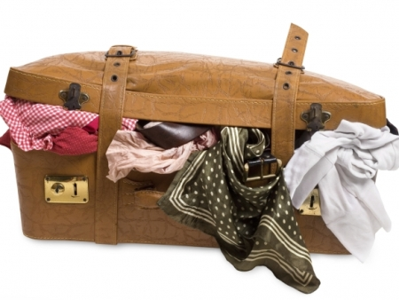 Застежки чемодана