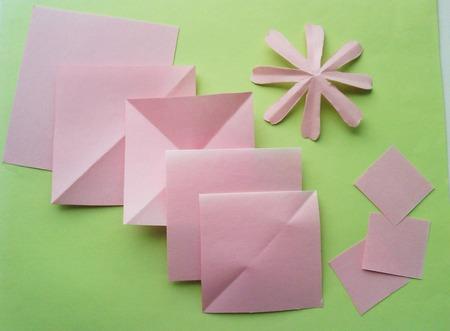 Бумажные квадраты