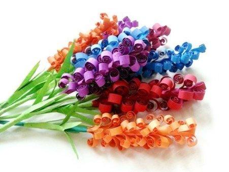 Цветные букеты