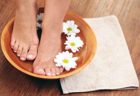 Теплые ванночки для ног