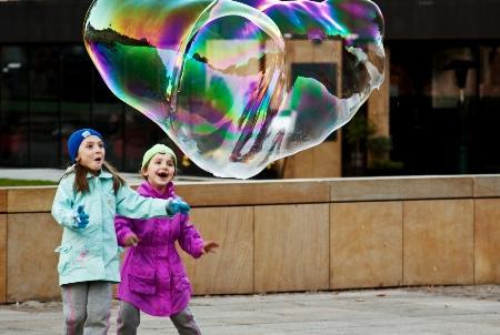 Дети с пузырем