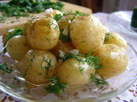 Картошка в мундирах