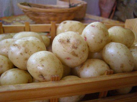 Картошку промоем