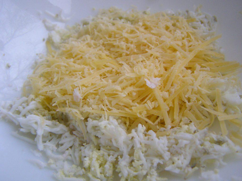 Сыр, натертый на терке