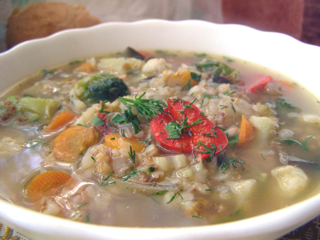 суп с гречкой рецепт с фото пошагово