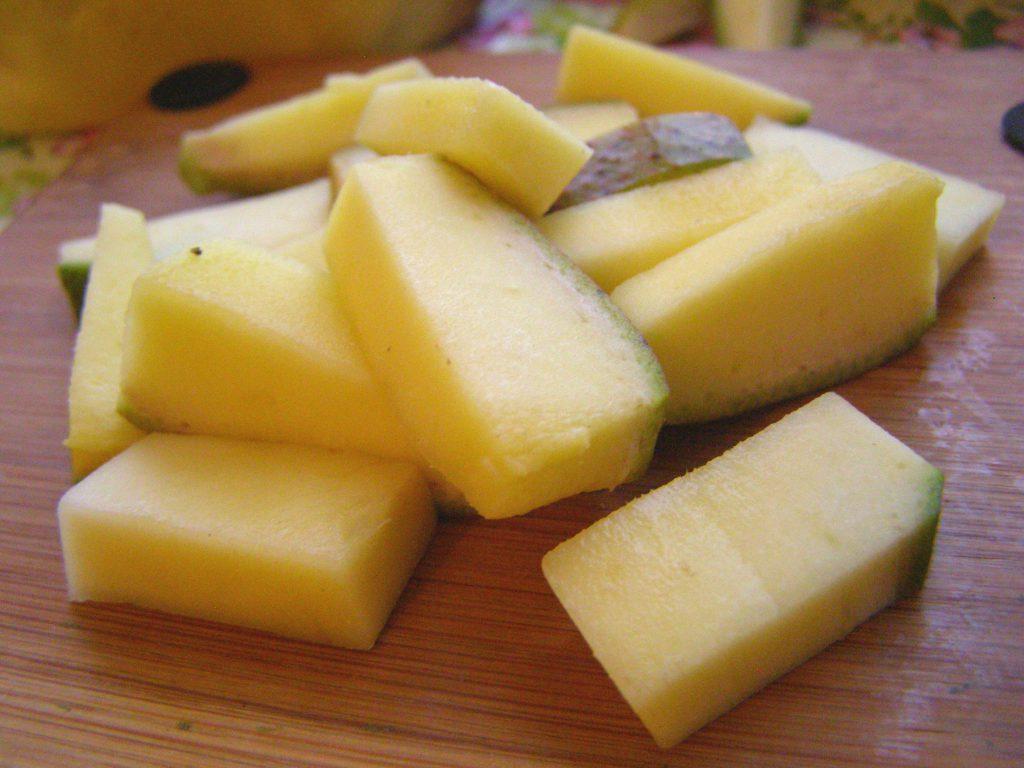 Ломтики манго