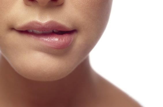Закусывание губы