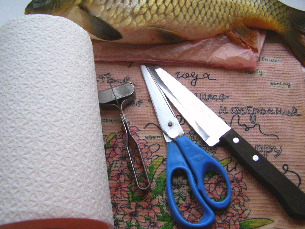 Для чистки рыбы