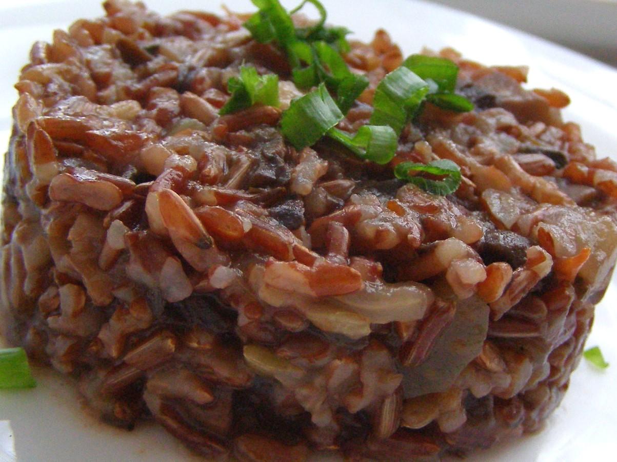 Каша из красного риса