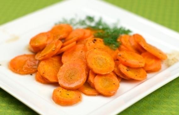 Морковь с коньяком