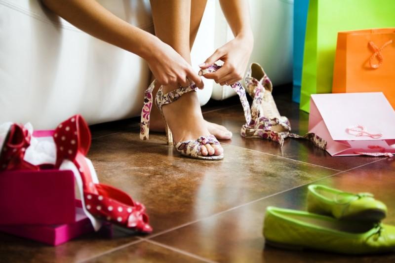 Покупаем обувь