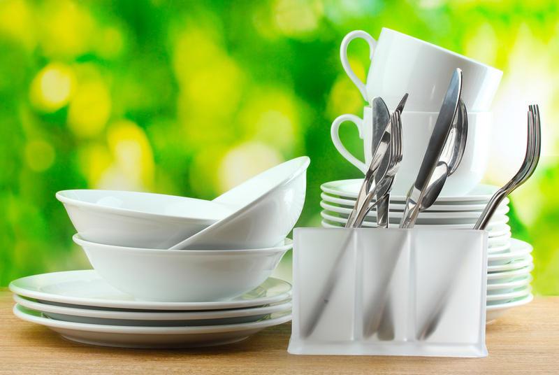 Вымытая посуда