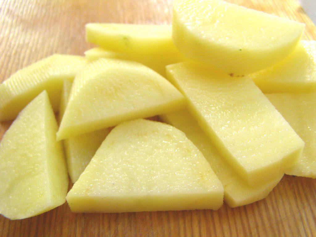 Подготовим картофель