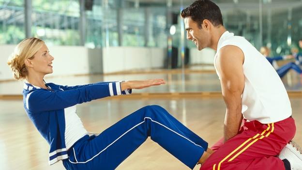 Фитнес с тренером