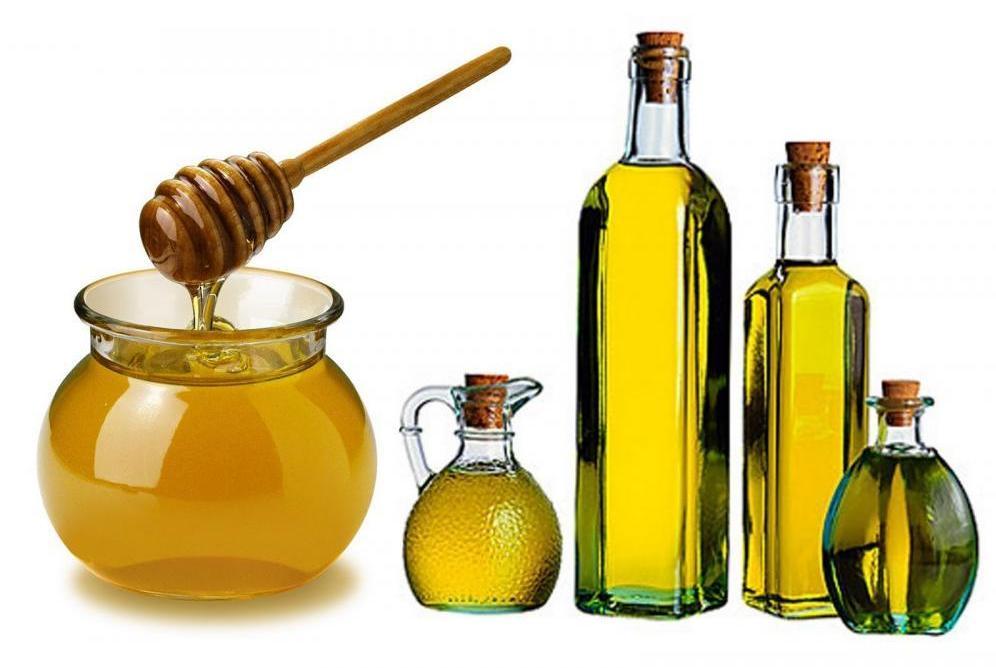 Оливковое масло, мед