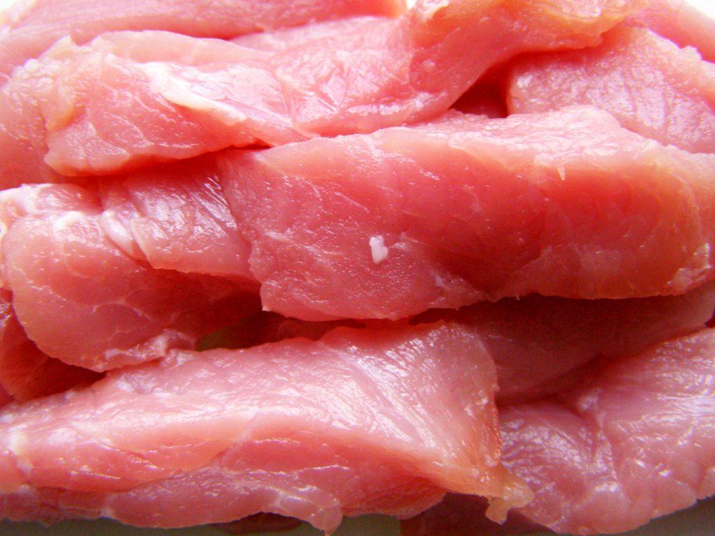 Полоски мяса