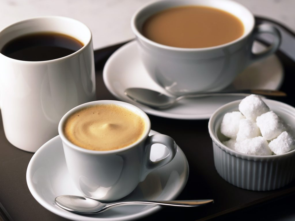 Какао, чай, кофе