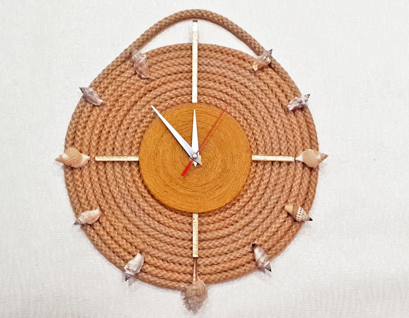 готовые веревочные часы
