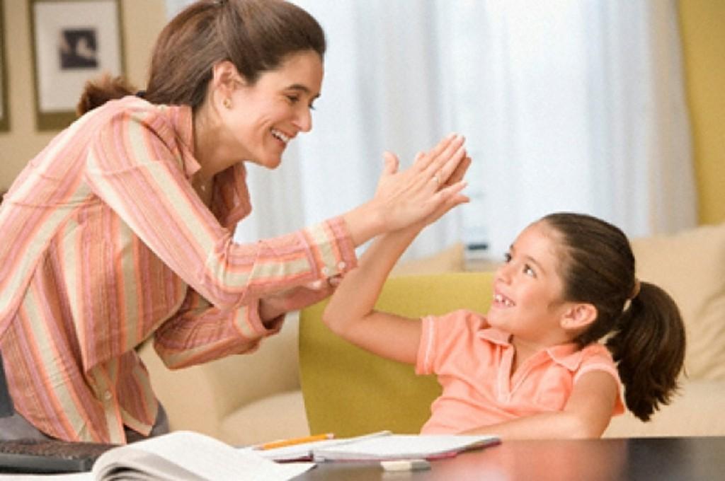 Похвалить ребенка