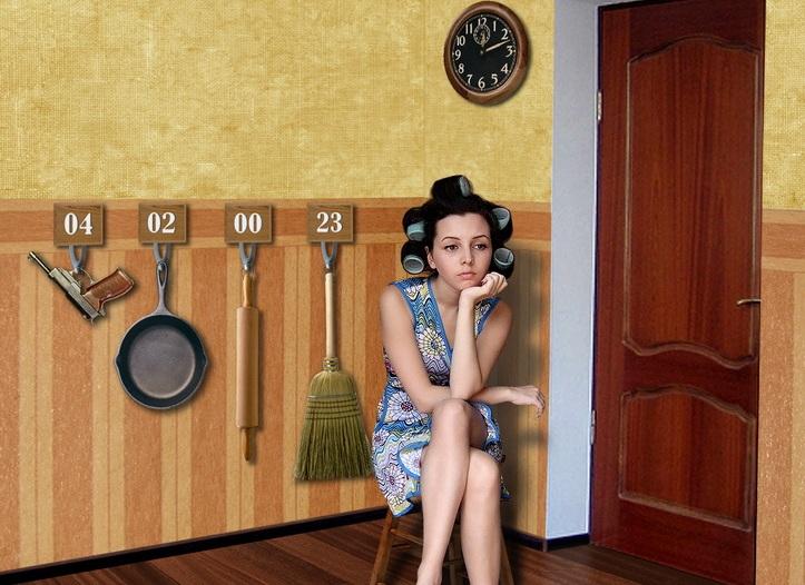 Жена ждет мужа