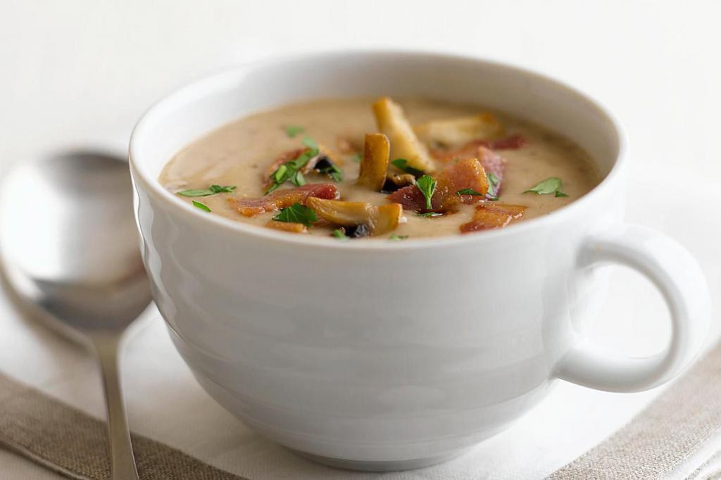 Суп с плавленным сырком