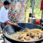 Как готовят плов в Узбекистане