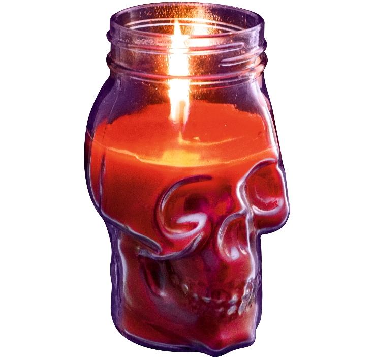 Свечи в виде черепов