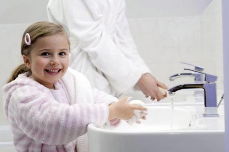 Мытье рук - детская гигиена