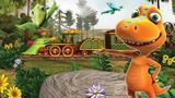 Детские мультфильмы - Поезд динозавров