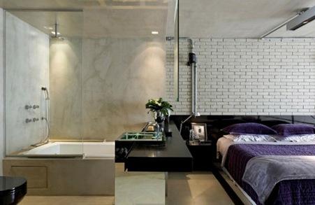 Спальня лофт 6