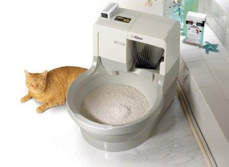 Роботизированный туалет для кошек