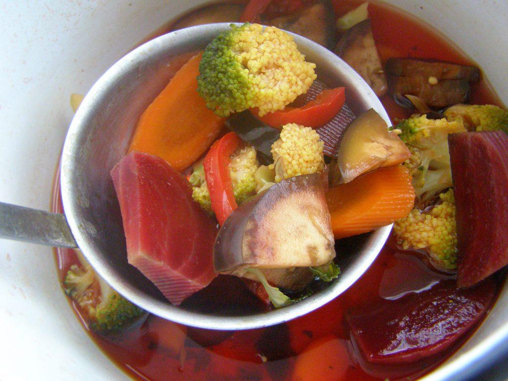 Овощи из супа