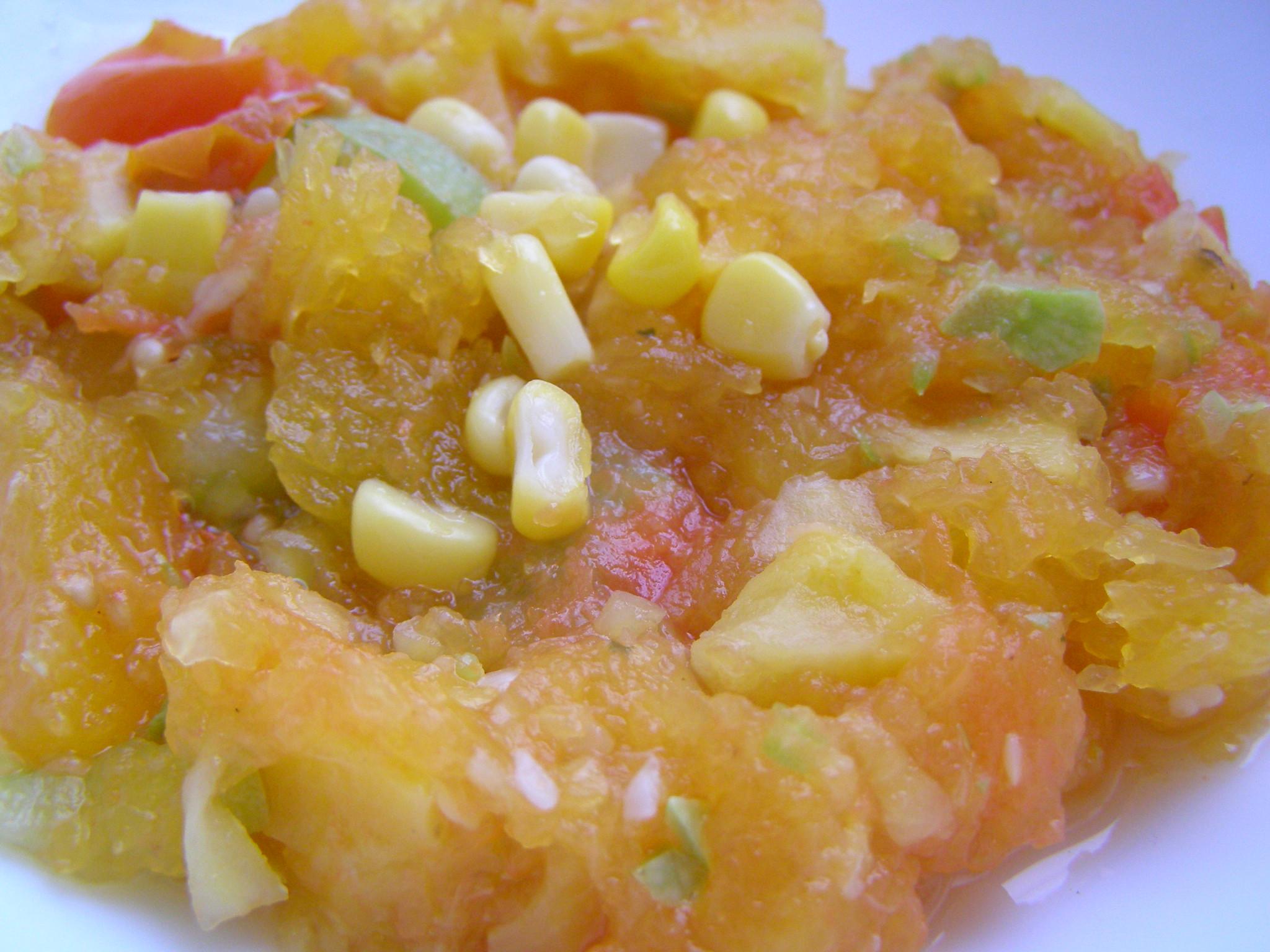 Суп-пюре кусочками