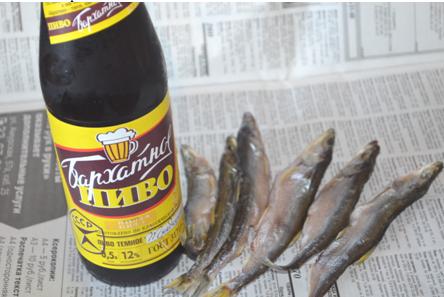 Рыба с пивом
