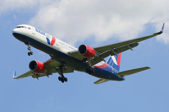 Вылет самолета