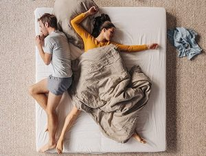 перестала спать с мужем